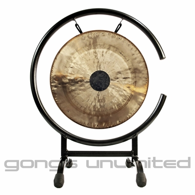 """12"""" Chocolate Drop Gong on High C Gong Stand - FREE SHIPPING"""
