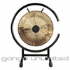 "12"" Chocolate Drop Gong on High C Gong Stand - FREE SHIPPING"