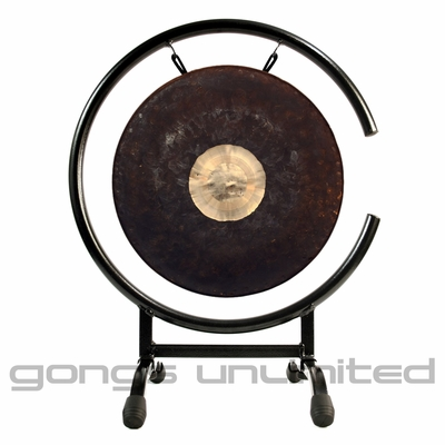"""12"""" Dark Star Gong on High C Gong Stand - FREE SHIPPING"""
