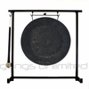 """12"""" Mother Tesla Gong on the Zildjian Table-Top Gong Stand (P0561) - FREE SHIPPING"""