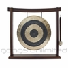 "12"" Subatomic Gong on Woodsonic Gong Stand - FREE SHIPPING"
