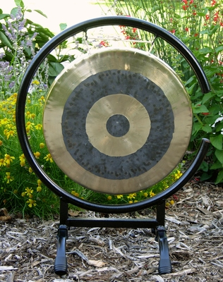 """12"""" Subatomic Gong on High C Gong Stand - FREE SHIPPING"""