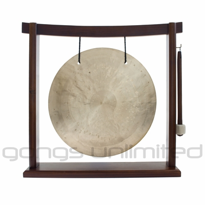 "12"" Wind Gong on the Woodsonic Gong Stand - FREE SHIPPING"