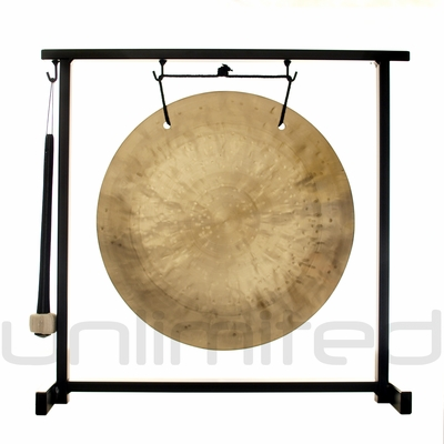 """12"""" Wind Gong on the Zildjian Table-Top Gong Stand (P0561) - FREE SHIPPING"""
