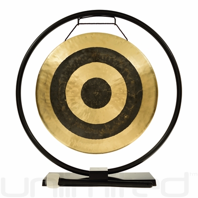 """14"""" Subatomic Gong on Au Courant Gong Stand - FREE SHIPPING"""