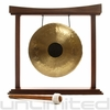 "16"" Chocolate Drop Gong on The Eternal Present Gong Stand - FREE SHIPPING"