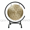 "16"" Flower of Life Wind Gong on High C Gong Stand - FREE SHIPPING"