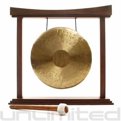 """16"""" Heng Gong on The Eternal Present Gong Stand - FREE SHIPPING"""