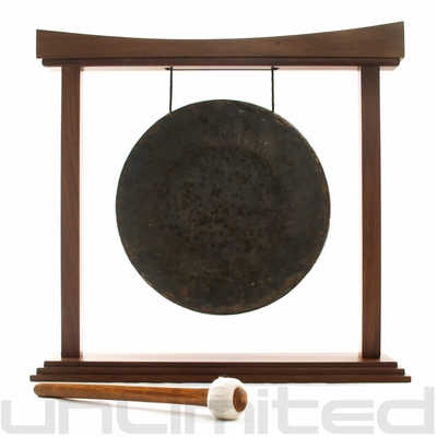 """16"""" Mother Tesla Gong on The Eternal Present Gong Stand - FREE SHIPPING"""