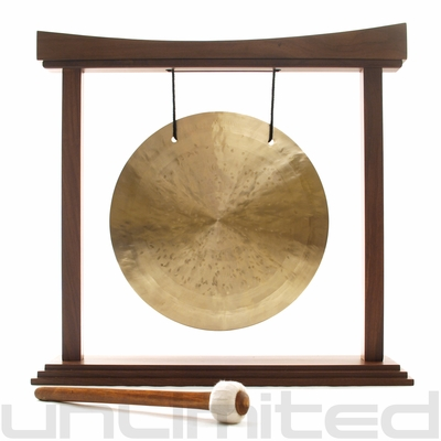 """16"""" Wind Gong on The Eternal Present Gong Stand - FREE SHIPPING"""