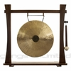 """18"""" Chocolate Drop Gong on Spirit Guide Gong Stand - FREE SHIPPING"""