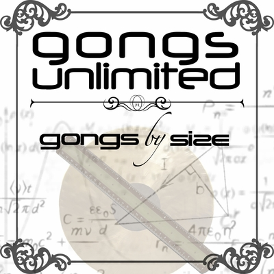 "18"" to 20"" Gongs Unlimited Brand Chinese Gongs"