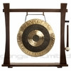 """18"""" Subatomic Gong on Spirit Guide Gong Stand - FREE SHIPPING"""