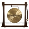 """18"""" White Gong on Spirit Guide Gong Stand - FREE SHIPPING"""
