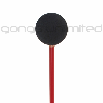 #2 Yin Yang-Edition 5R Red (Thick) Friction Mallet by TTE Konklang - Solo