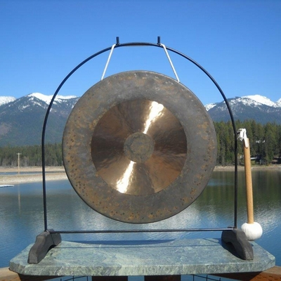 """20"""" Bright Chau Gong on the Super Love Gong Stand - FREE SHIPPING"""