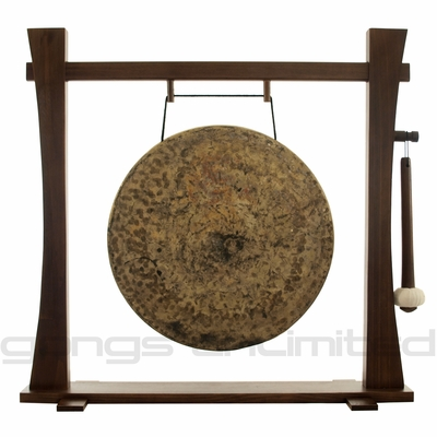 "22"" Atlantis Gong on Spirit Guide Gong Stand - FREE SHIPPING"