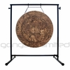 """22"""" Atlantis Gong on the Fruity Buddha Gong Stand - FREE SHIPPING"""