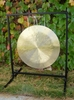 """22"""" Brisk Wind Gong on the Fruity Buddha Gong Stand - FREE SHIPPING"""