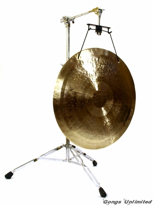 "22"" Wind Gong on the Satellite of Love Stand"