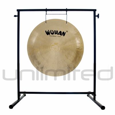 "SOLD OUT 22"" Wuhan Wind Gong on the Fruity Buddha Gong Stand - FREE SHIPPING"