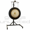 """24"""" Meinl Sidereal Moon Planetary Tuned Gong on the Meinl Metal Stand (G24-M-SI/TMGS)"""