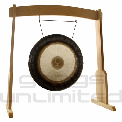 "24"" Meinl Venus Planetary Tuned Gong on the Meinl Wood Stand (G24-V/TMWGS-M) - SOLD OUT"