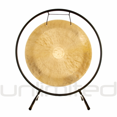 """24"""" Wind Gong on the Holding Space Gong Stand - FREE SHIPPING - SOLD OUT"""