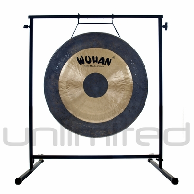 """24"""" Wuhan Chau Gong on the Fruity Buddha Gong Stand - FREE SHIPPING - SOLD OUT"""