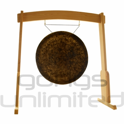 """26"""" Atlantis Gong on the Meinl Gong/Tam Tam Wood Stand (TMWGS-M) - SOLD OUT"""