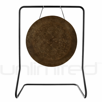 "26"" Mother Tesla Gong on UFIP Molto Bella Gong Stand"