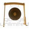 """26"""" Dark Star Gong on the Meinl Gong/Tam Tam Wood Stand (TMWGS-M) - SOLD OUT"""