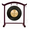 """28"""" Dark Star Gong on the Deeper Meaning Gong Stand - FREE SHIPPING"""