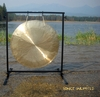 """26"""" Brisk Wind Gong on the Fruity Buddha Gong Stand  - FREE SHIPPING"""