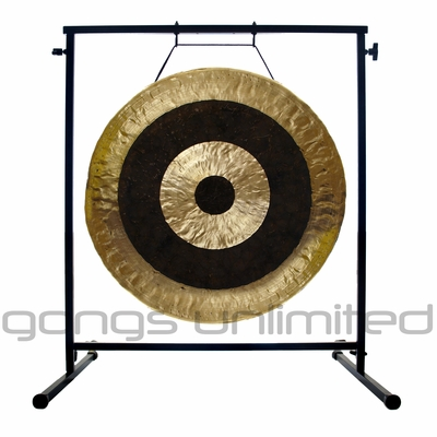 "26"" Subatomic Gong on the Fruity Buddha Gong Stand - FREE SHIPPING"