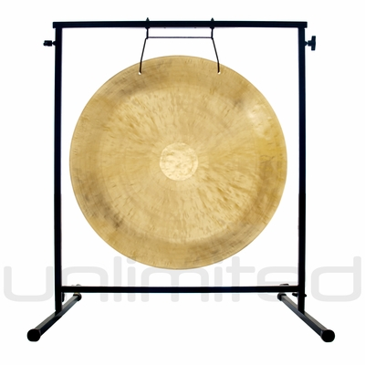 "26"" Wind Gong on the Fruity Buddha Gong Stand - FREE SHIPPING"