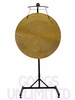 "36"" Wind Gong on the Meinl Gong/Tam Tam Pro Stand (TMGS-2)"
