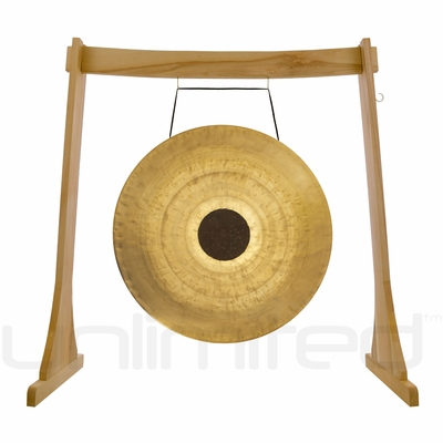 """26"""" Chocolate Drop on the Unlimited Revelation Gong Stand - FREE SHIPPING"""