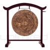 """28"""" Atlantis Gong on the Deeper Meaning Gong Stand  - FREE SHIPPING"""
