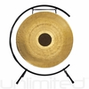 "28"" Chocolate Drop Gong on Paiste Floor Gong Stand"