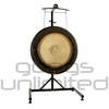"""28"""" Meinl Chiron Planetary Tuned Gong on the Meinl Metal Stand (G28-CH/TMGS)"""