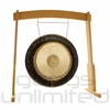 """28"""" Meinl Chiron Planetary Tuned Gong on the Meinl Wood Stand (G28-CH/TMWGS-M) - SOLD OUT"""