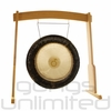 """28"""" Meinl Platonic Year Planetary Tuned Gong on the Meinl Wood Stand (G28-E-PL/TMWGS-M) - SOLD OUT"""