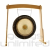 """28"""" Meinl Sidereal Day Planetary Tuned Gong on the Meinl Wood Stand (G28-E-SI/TMWGS-M) - SOLD OUT"""