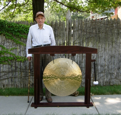 """28"""" Wind Gong on Regal Populist Gong Stand - SOLD OUT"""