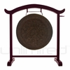 """28"""" Mother Tesla Gong on the Deeper Meaning Gong Stand  - FREE SHIPPING"""