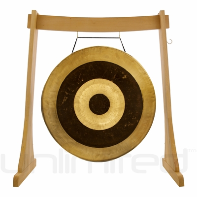"""28"""" Subatomic Gong on the Unlimited Revelation Gong Stand - FREE SHIPPING"""
