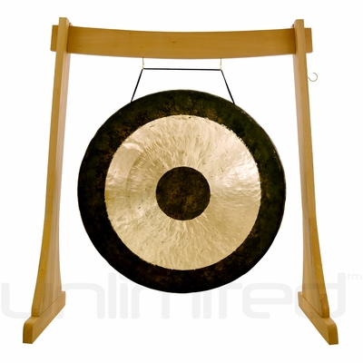 """30"""" Chau Gong on the Unlimited Revelation Gong Stand - FREE SHIPPING"""