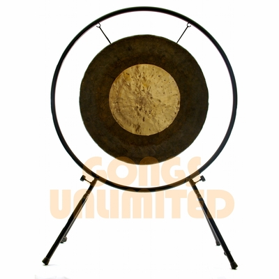 """32"""" Dark Star Gong on Center Yourself Stand - FREE SHIPPING -SOLD OUT"""