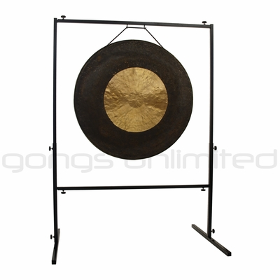 "32"" Dark Star Gong on Rambo Rimbaud Gong Stand - SOLD OUT"